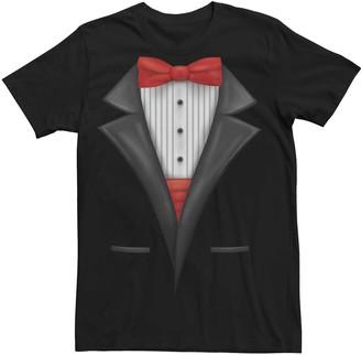 Licensed Character Men's Tuxedo Suit Graphic Tee