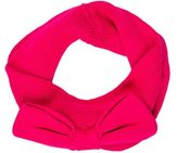 Kate Spade Bow-Accented Knit Snood