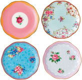 Royal Albert Candy 4-pc. Appetizer Plate
