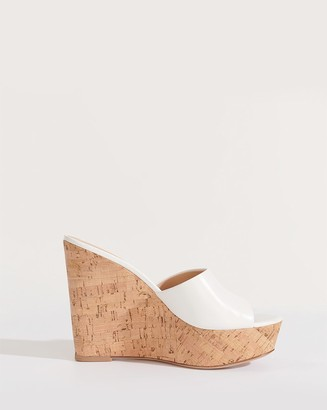 Veronica Beard Dali Wedge Slide Sandal