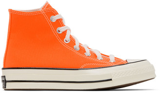 Converse Orange Chuck 70 High Sneakers