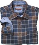 Johnston & Murphy Brushed Large Check Shirt
