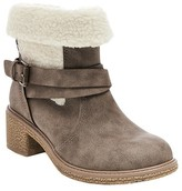 Stevies Girls' #COLDQT Sherpa Shearling Style Boots - Stone