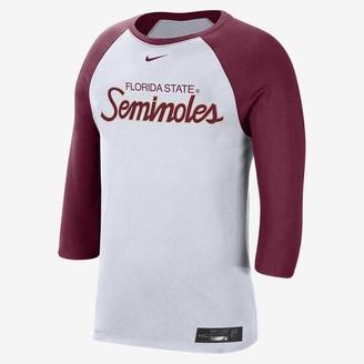 Nike Men's 3/4-Sleeve T-Shirt College Dri-FIT (Florida)