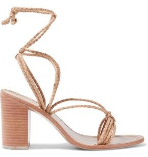 Zimmermann Braided Leather Sandals