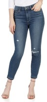 Paige Women's Transcend - Hoxton High Waist Crop Skinny Jeans