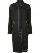 Alexander Wang contrast stitch coat