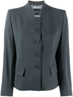 Emporio Armani Button-Up Blazer Jacket