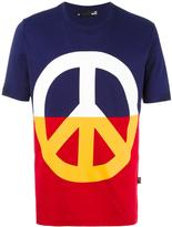 Love Moschino peace print T-shirt - men - Cotton - S