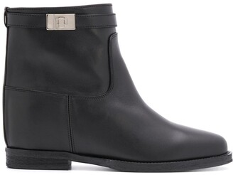 Via Roma 15 Casual Ankle Boots