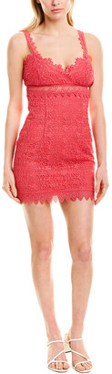 Charo Ruiz Ibiza Guipour Mini Dress