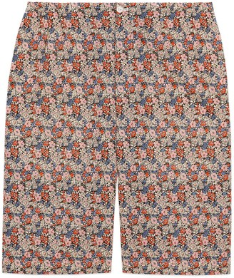 Gucci Liberty floral cotton shorts