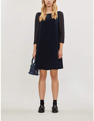 Claudie Pierlot Rififi chiffon mini dress