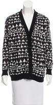 Stella McCartney Heart-Patterned Knit Cardigan