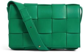 Bottega Veneta Leather Cassette Cross-Body Bag