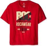 Rocawear Men's Tall Roc 99 Short Sleeve Tee