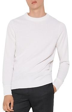 Sandro Cashmere Double-Thread Crewneck Sweater