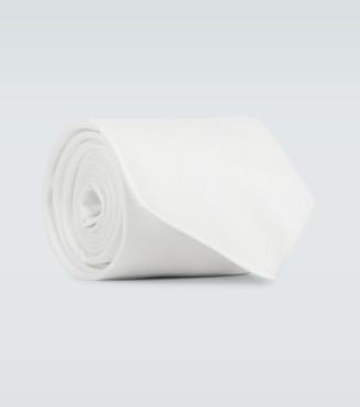 Burberry Runway cotton tie