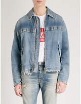 Unravel Stonewashed Rigid Workman denim jacket
