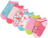 Stride Rite 6 Pack Tropical No Show (Toddler/Kid) - Pink - 12-24 Months