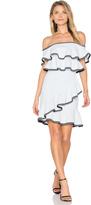 Rebecca Vallance Billie Ruffle Mini Dress