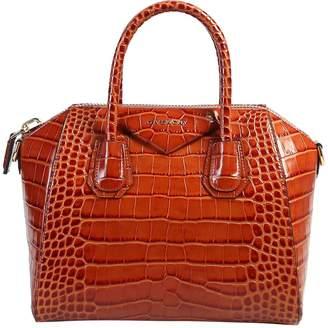 Givenchy Crocodile Print Antigona Bag