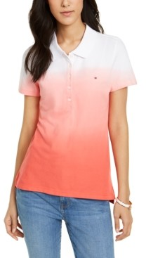 Tommy Hilfiger Dip-Dyed Polo Shirt