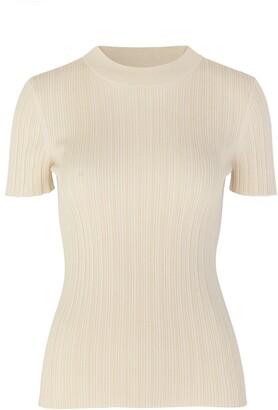 Samsoe & Samsoe Joan Rib Short Sleeve Sweater