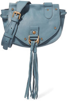 See by Chloe Collins Small Textured-leather Shoulder Bag - Blue