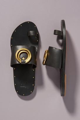 beek Rosella Slide Sandals By in Black Size 6