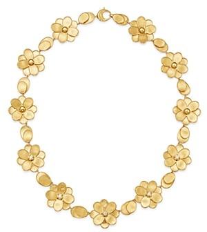 Marco Bicego 18K Yellow Gold Petali Diamond Collar Necklace, 17.5
