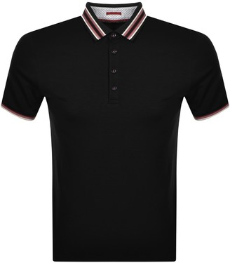 Ted Baker Teacups Polo T Shirt Navy