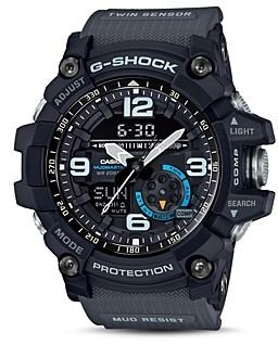 G-Shock Mudmaster Black Watch, 55.3mm