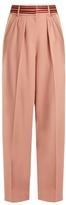 Roksanda Tillae contrast-stripe wide-leg trousers