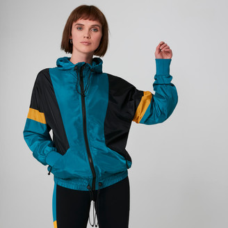 Myprotein MP Colour Block Windbreaker - Lagoon - XS