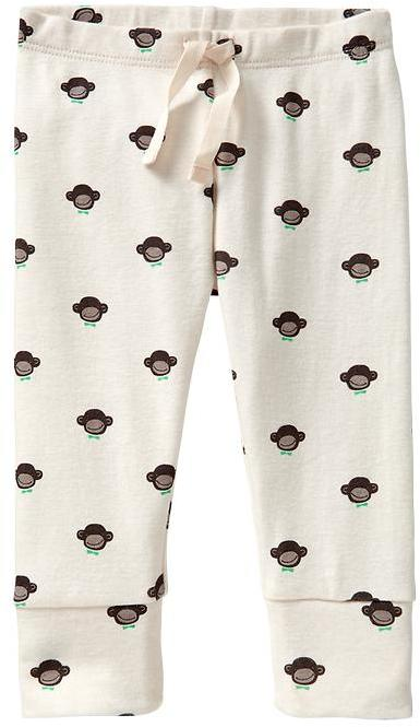 Gap Monkey print leggings