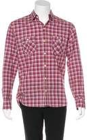 Billy Reid Woven Plaid Shirt