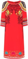 Etro Printed crApe midi dress