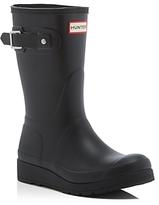 Hunter Women's Original Short Wedge Sole Rain Boots