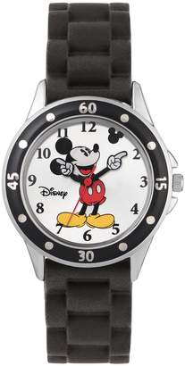 Lacoste Tu Disney Mickey Mouse Black Silicone Strap Watch