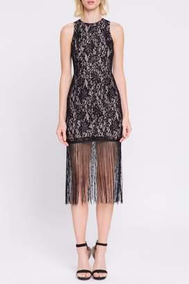 Endless Rose Lace-Dress With Fringe