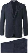 Boglioli single breasted suit - men - Silk/Spandex/Elastane/Cupro/Virgin Wool - 48