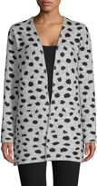 Style&Co. Style & Co. Jacquard Animal-Print Cardigan
