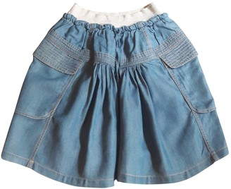 Tsumori Chisato Blue Denim - Jeans Skirt for Women