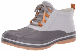 Chooka womens Waterproof Lace-up Duck With Memory Foam Insole Ankle Boot