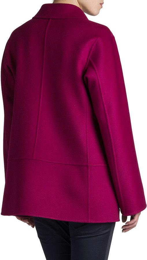 Jil Sander Rascel Full-Back Coat