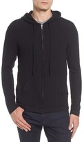 Velvet by Graham & Spencer Men's Modern Trim Zip Hoodie