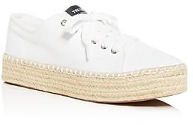 Tretorn Women's Eve Low-Top Platform Espadrille Sneakers