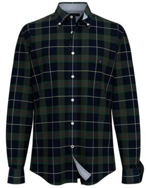 Tommy Hilfiger Men's Trentan Tartan Plaid Shirt