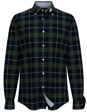 Tommy Hilfiger Men's Trentan Tartan Shirt